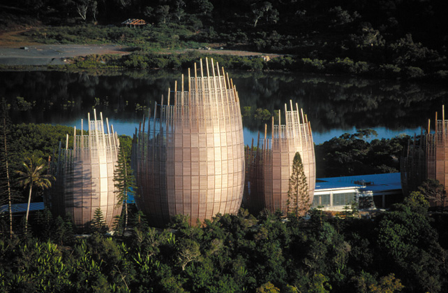 Centro Culturale Jean-Marie Tjibaou in Nuova Caledonia (Foto: John Gollings)