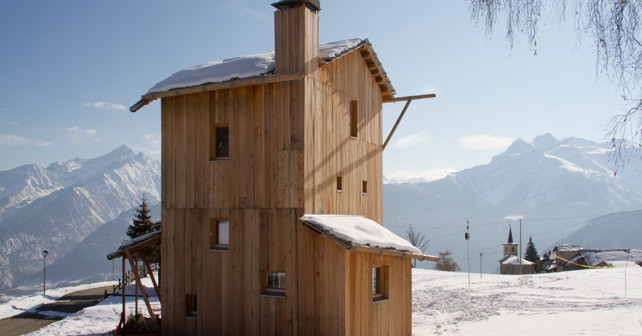 Una casa solare alpina auto sufficiente greenbuillding - Esposizione solare casa ...