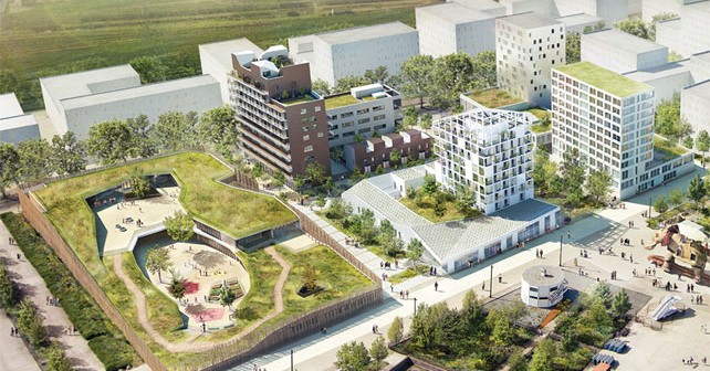 Gli eco quartieri di marsiglia e di nantes alla biennale for Eco architettura