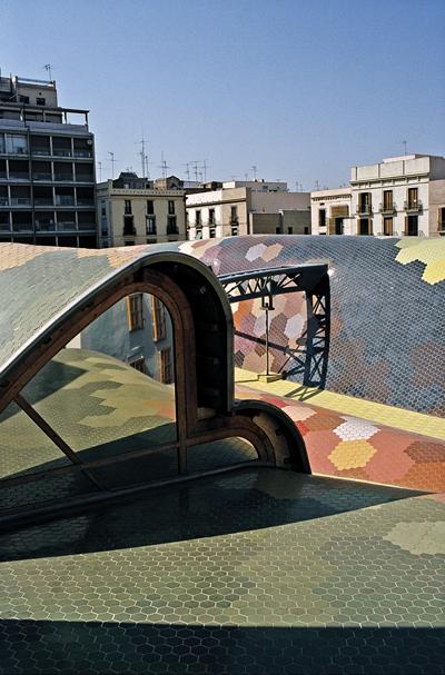 Mercato di Santa Caterina, Barcellona, 2005. © Alex Gaultier