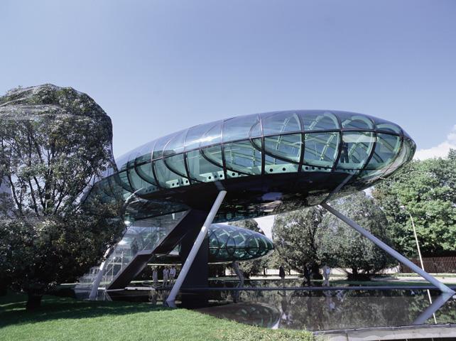 Nardini Centro Ricerche e Auditorium 100 posti.  Bassano del Grappa (VI), Italia, 2002-2004. (Foto: Maurizio Marcato)