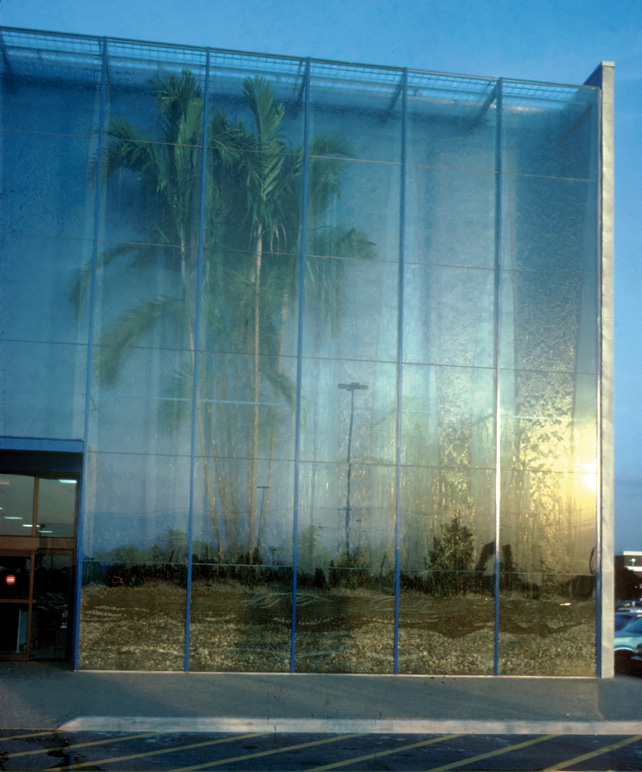 Rainforest Building, Hialeah, Florida, 1979.