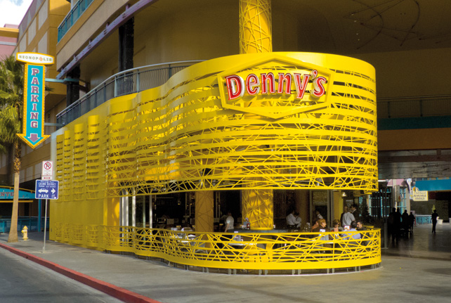 Denny's Neonopolis Network, SITE Las Vegas, Nevada, 2012. (© SITE)