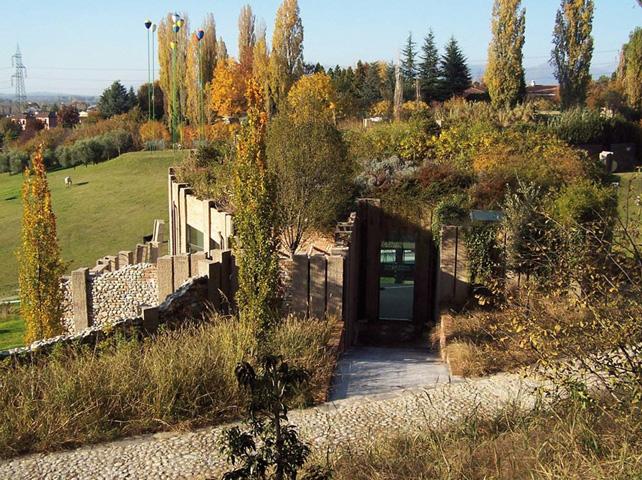Fondazione Rossini Pavilion,  Briosco (MB), Italia, 2009.