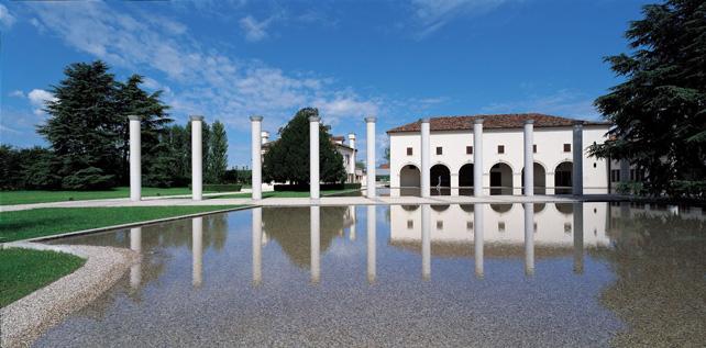 Benetton Fabrica, centro di ricerca, Tadao Ando, Catena di Villorba TV