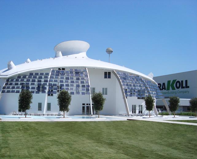 Kerakoll GreenLab, centro ricerche, Sassuolo, MO.
