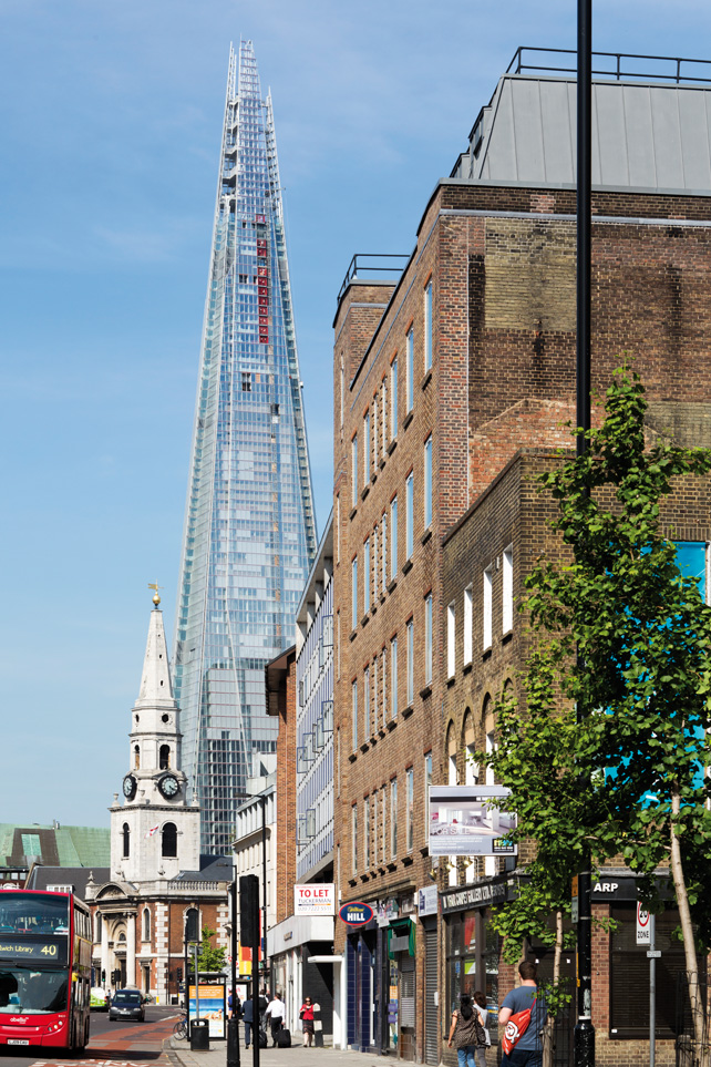 London Bridge Tower – The Shard, Londra (Foto: Michel Denancé)