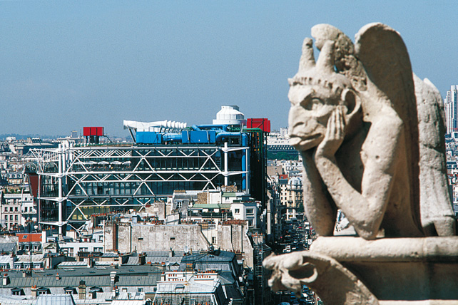 Centro Georges Pompidou, Parigi (Foto: Gianni Berengo Gardin)