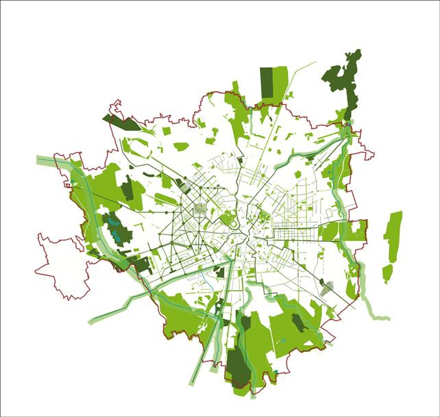 Schizzo 90mila alberi, Milano (© RPBW)