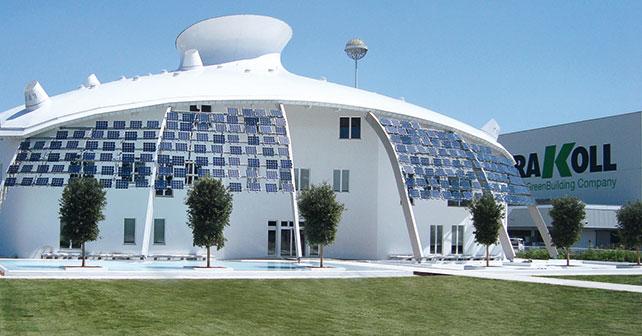 Kerakoll GreenLab, Centro ricerche e sviluppo, Sassuolo (MO). Progettista: Studio Bios (2012).