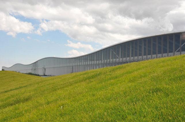Technogym Village, Sede direzionale, Cesena. Progettista: Antonio Citterio  Patricia Viel & P. (2012).