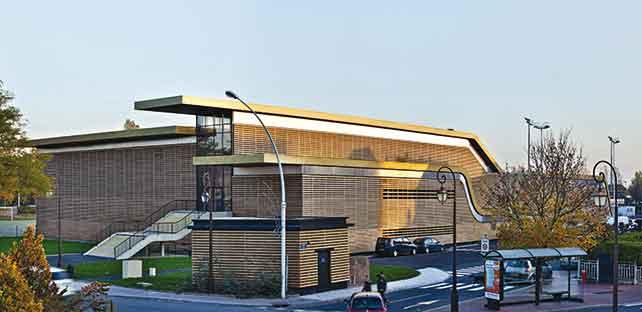 POM'S palazzetto dello sport, Deauville, Francia, 2009.