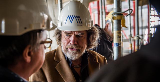 Reinhold Messner. @ MMM Corones