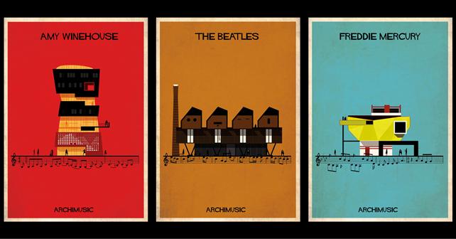 Amy Winehouse, Rehab. The Beatles, Let it be. Freddie Mercury, Bohemian rhapsody.