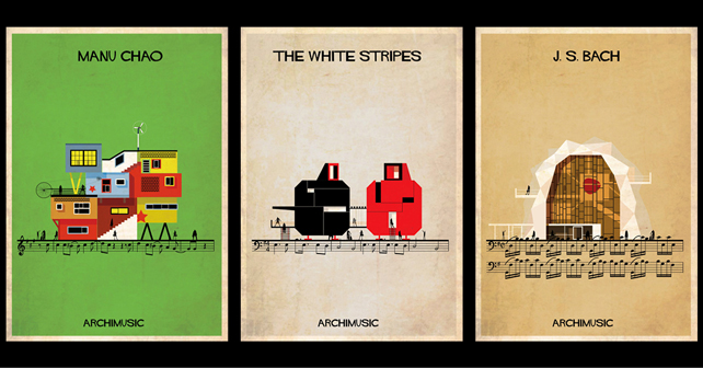 Manu Chao, Me gustas Tu/ Desaparecido. The White Stripes, Seven nation army. J.S. Bach, Suite pour violoncelle N°1.
