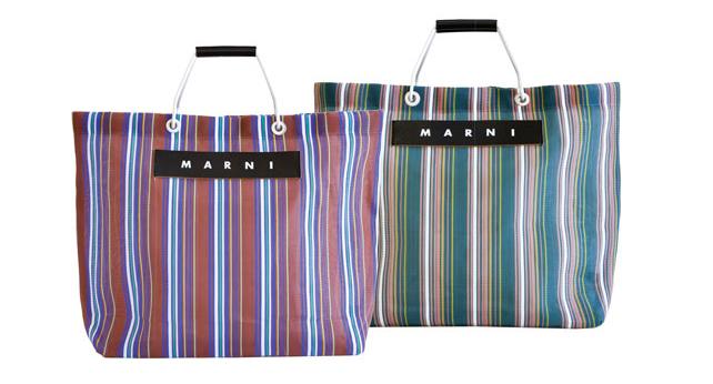 Bags for Marni Flower Market.