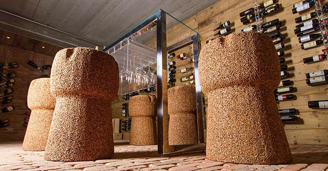 Livingcap dal sughero riciclato oggetti di design e for Oggetti d arredo particolari