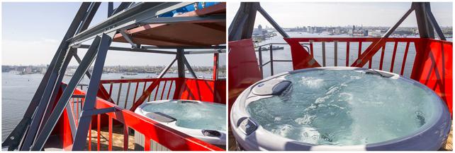 GreenBuilding magazine_Faralda NDSM Crane Hotel Amsterdam_Jacuzzi-Top-deck
