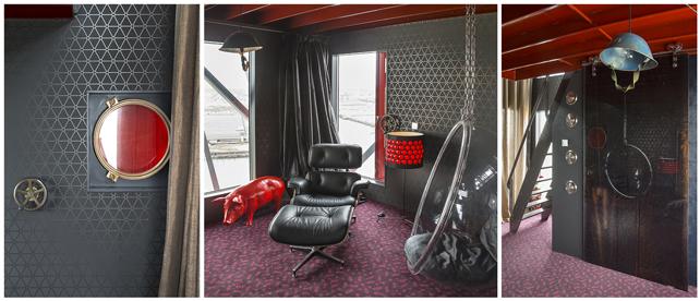GreenBuilding magazine_Faralda NDSM Crane Hotel Amsterdam_Mystique