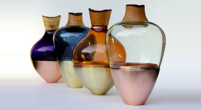Pia Wüstenberg, Stacking vessels India, 2013. Collezione privata (55x30x30 cm).