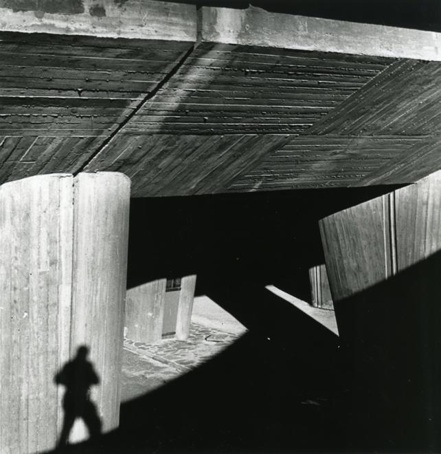 Lucien Hervé, Marseille, Francia: L'Unité d'habitation, architetto Le Corbusier, 1952