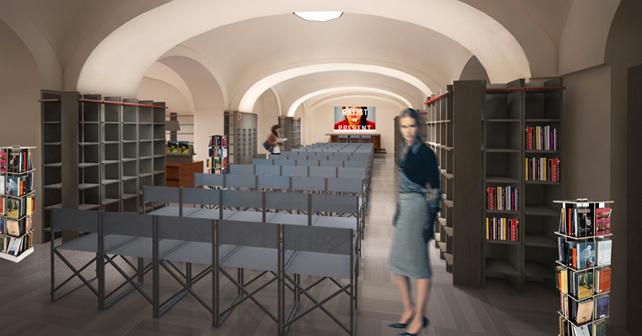 Rizzoli Galleria, Milano (Piano interrato)