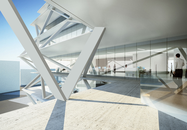 GreenBuilding-magazine-One-Airport-Square_render-entrance-02_by-Engram-Studio