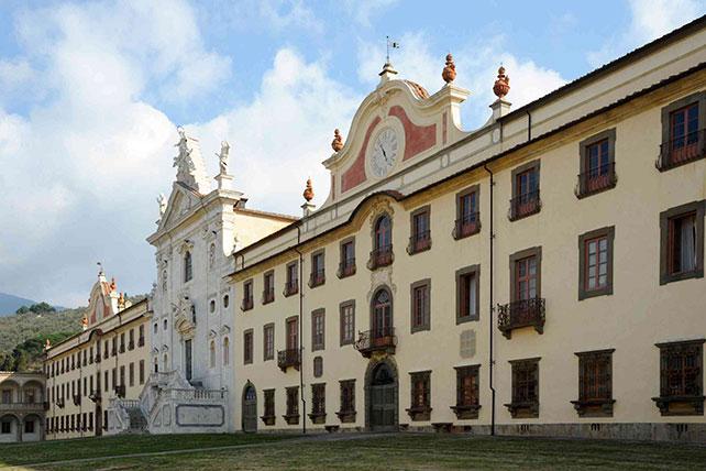 Certosa di Calci (PI), foto Roberto Barbuti © Archivio FAI - Fondo Ambiente Italiano