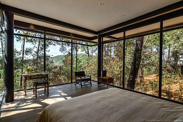Guest Room. IREKUA ANATANI House by BROISSIN. Photo Alexandre d' La Roche