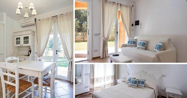 Villa Calicanto, interni. Ambienti confortevoli ed extra lusso, perfettamente in sintonia con l'ambiente, tra la macchia mediterranea e il mare di Sardegna.