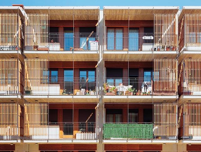 80 appartamenti di edilizia sociale, 2009, Salou, un Comune sulla costa catalana a sud di Tarragona