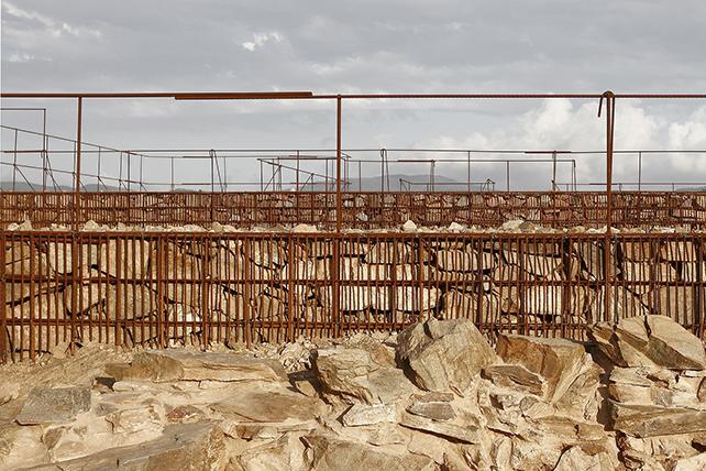 Valorizzazione delle rovine di Can Tacó, 2012, a Montmelò