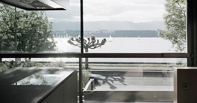 Villa le Lac, Geneva, Switzerland Project by Meyer Architecte, arch. Philippe Meyer Photographer: @JoelTettamanti