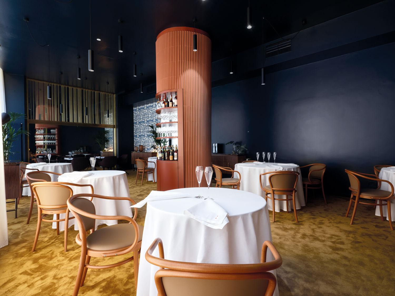 Greenbuilding magazine Eugenio Boer interni ristorante © Marco Varoli