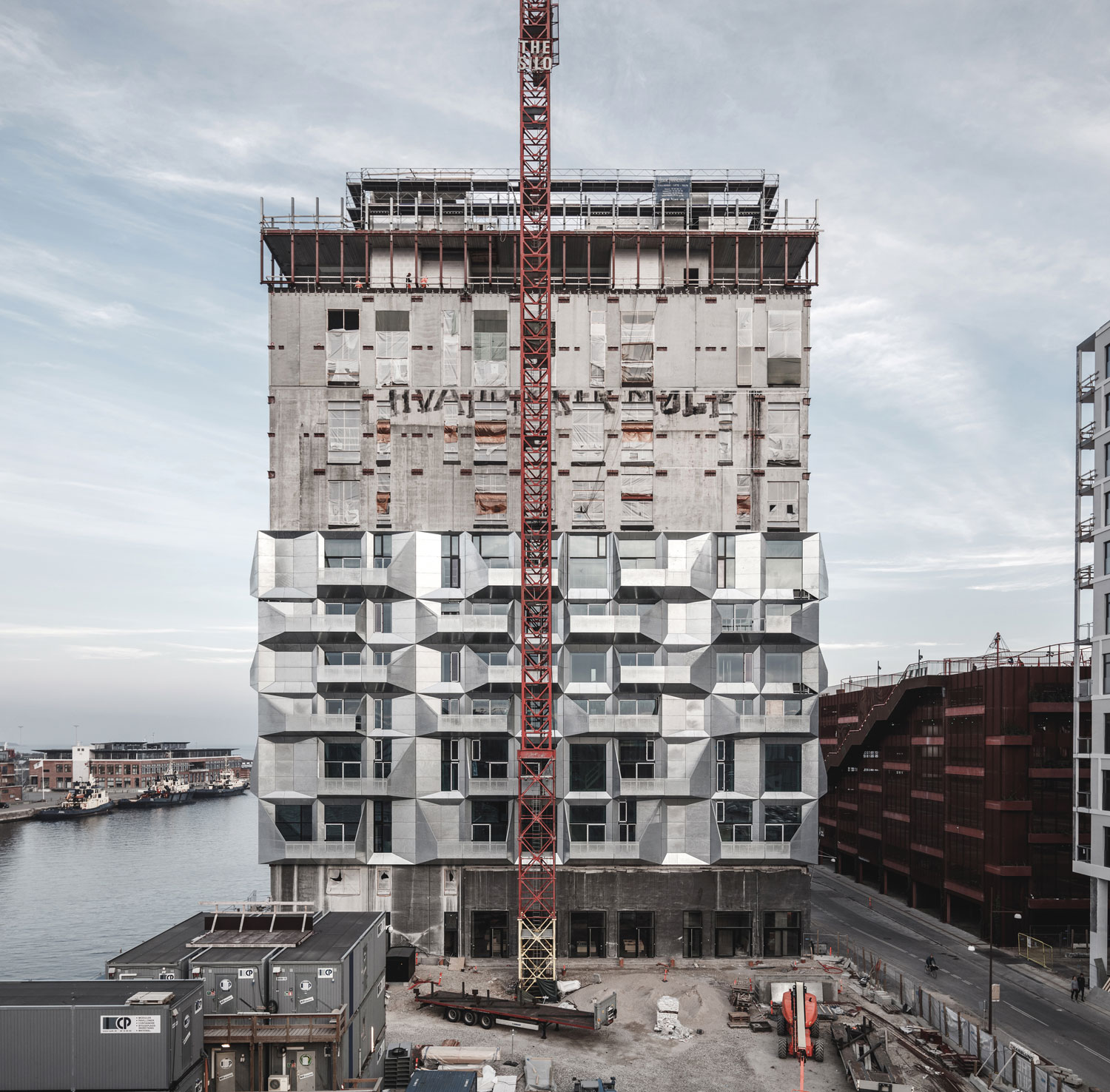Greenbuilding magazine, The Silo, Copenhagen, Danimarca Ph. © Rasmus Hjortshøj – COAST, courtesy COBE Architect