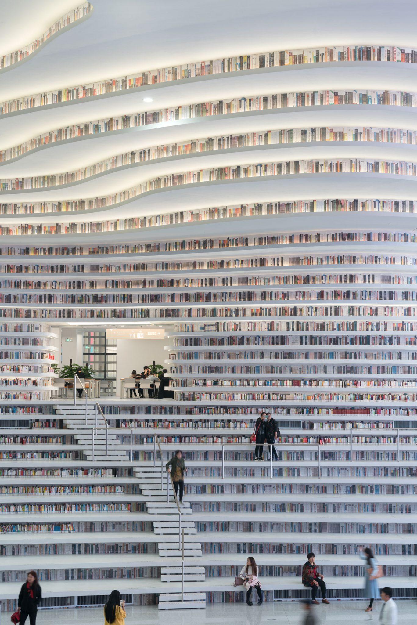Greenbuilding magazine, MVRDV, Tianjin Binhai Library, China. Ph. © Ossip van Duivenbode