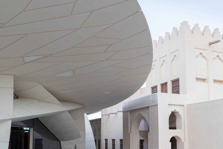 Greenbuilding magazine, Jean Nouvel, Museo nazionale del Qatar. Ph. © Iwan Baan