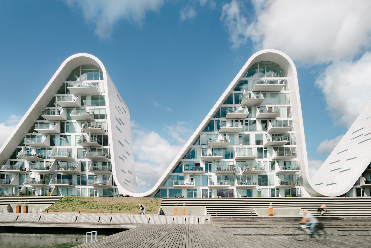 Greenbuilding magazine, The Wave, Henning Larsen, Photo by Jacob Due