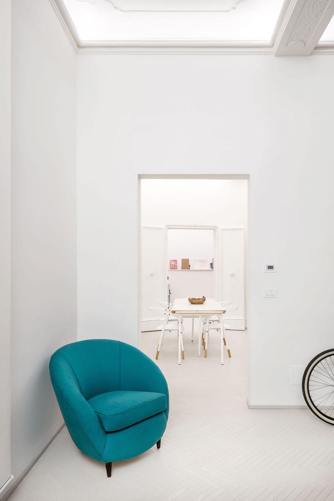 Greenbuilding magazine, appartamento Bologna. Miro architetti